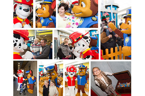 Paw Patrol and Christmas Grotto Opening- Thank you!