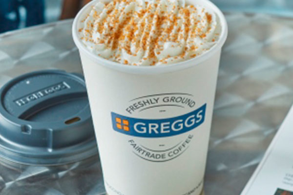 New winter products from Greggs
