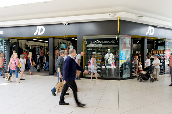 JD Sports are open!