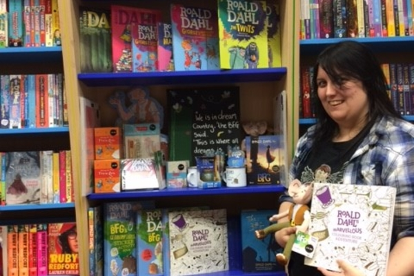 Celebrating 100 years of Roald Dahl at Waterstones