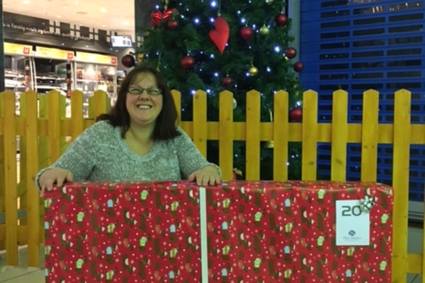 Shoppers win big with Secret Santa competition