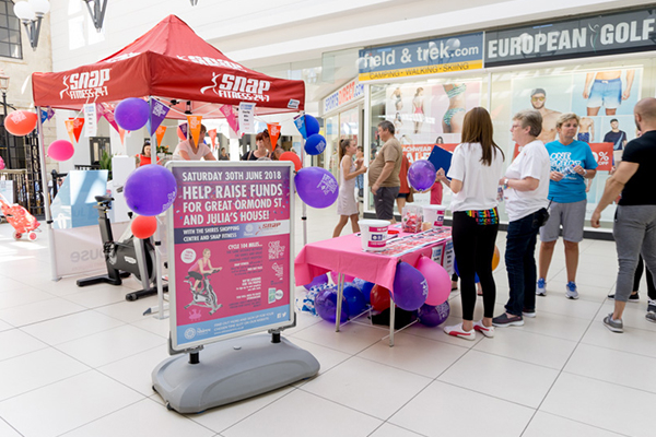 PEDAL POWER COMES TO THE SHIRES SHOPPING CENTRE