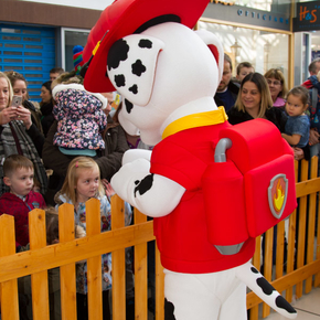 Paw Patrol & Christmas Light Switch on